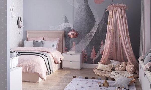 Παιδικό δωμάτιο: Φανταστικές ιδέες για τις μικρές σας πριγκίπισσες (vid)
