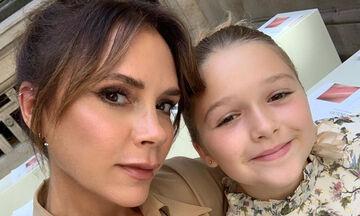 Harper Beckham: Άφωνη η Victoria από την πρωινή έκπληξη της κόρης της (pics)