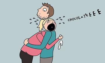 Τα χιουμοριστικά σκίτσα μίας μέλλουσας μαμάς για το πώς νιώθει στην εγκυμοσύνη (pics)