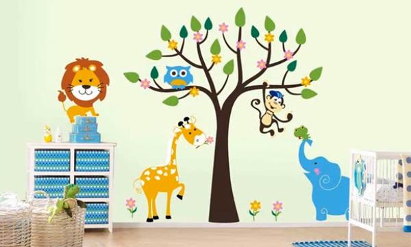 Φέρτε τη φύση στο παιδικό δωμάτιο - Εμπνευσμένες τοιχογραφίες που θα θέλετε να δοκιμάσετε (vid)