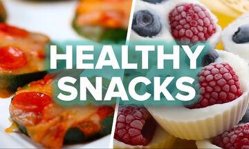 8 υγιεινά σνακ για μετά το σχολείο (vid)