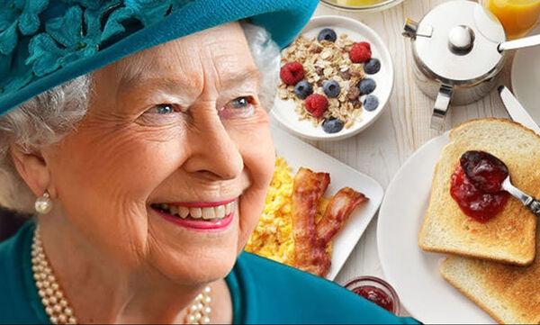 Αυτό είναι το πρόγραμμα διατροφής της βασίλισσας Ελισάβετ (vid)