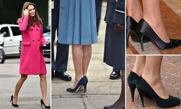 Αυτό είναι το μυστικό της Kate Middleton για να περπατά άνετα με ψηλά τακούνια (vid)