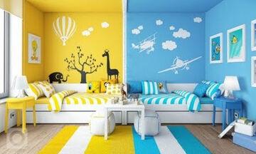 Πολύχρωμα παιδικά δωμάτια που θα σας ενθουσιάσουν - Πάρτε ιδέες (vid)
