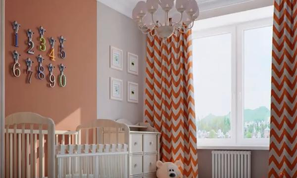 Κουρτίνες στο παιδικό δωμάτιο: Όμορφες και πρωτότυπες ιδέες για να τις ανανεώσετε (vid)