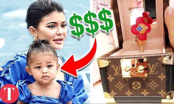 Τα 20 πιο ακριβά πράγματα που έχουν αγοράσει οι Kardashians στα παιδιά τους (vid)