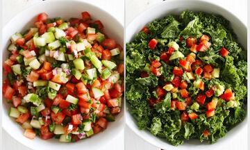 Επτά εύκολες και υγιεινές σαλάτες για όλη την εβδομάδα (vid)