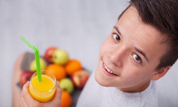 Παιδί & διατροφή: Ποια θρεπτικά συστατικά είναι σημαντικά για ένα αγόρι στην εφηβεία;