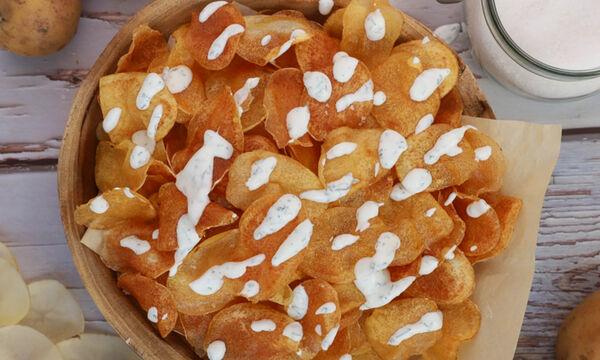 Chips πατάτας - Δείτε πώς θα τα φτιάξετε
