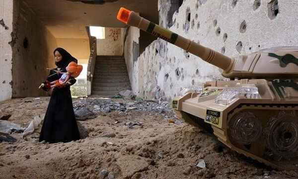 Πώς βλέπουν τα παιδιά τον πόλεμο; (pics)