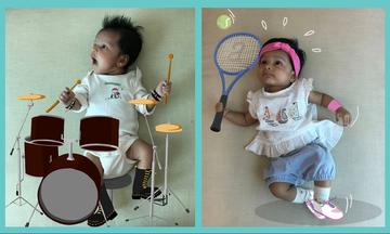 Γονείς φωτογραφίζουν τη νεογέννητη κόρη τους & φτιάχνουν αξιολάτρευτα έργα τέχνης (pics)