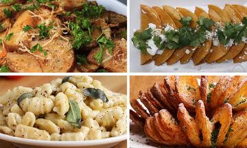 Έξι λαχταριστές συνταγές για πατάτες που πρέπει να δοκιμάσετε (vid)