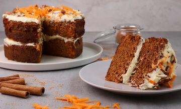 Συνταγή για λαχταριστό carrot cake