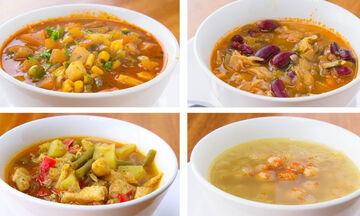 Τέσσερις νόστιμες σούπες, ιδανικές για την απώλεια βάρους (vid)