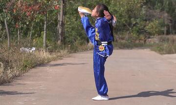 Οι ικανότητες της 9χρονης στο Κουνγκ Φου θα σας εντυπωσιάσουν -Δείτε το βίντεο που έγινε viral (vid)