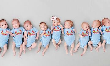 Γιατρός & μπαμπάς τρίδυμων, ξεγέννησε 3 φορές τρίδυμα μέσα σε 6 εβδομάδες (pics+vid)