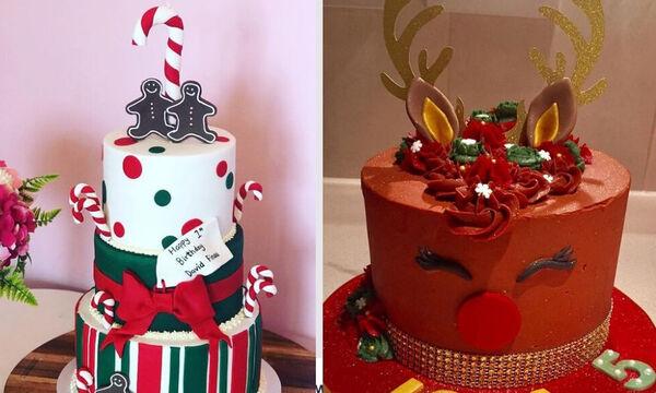 Παιδικό πάρτι γενεθλίων τα Χριστούγεννα: Απίθανες ιδέες για τούρτες (pics)