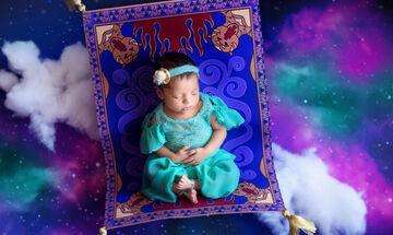 Αυτές οι μπεμπούλες φωτογραφίζονται ως πριγκίπισσες της Disney και γίνονται viral (pics)