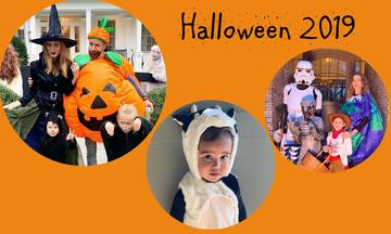 Halloween 2019: Τι ντύθηκαν οι διάσημοι αστέρες του Hollywood & τα παιδιά τους; Δείτε υπέροχες φώτο!