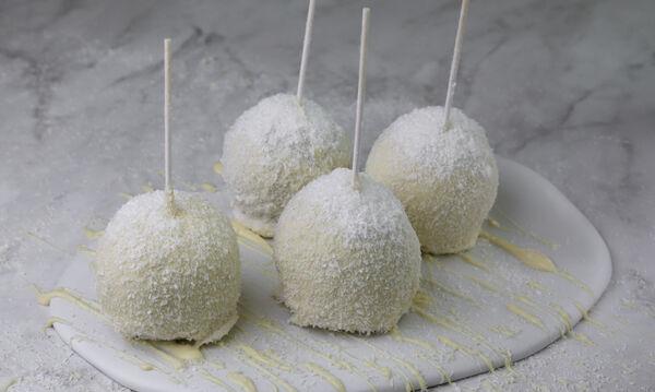 Μήλα με επικάλυψη σοκολάτας και καρύδας - Μία πρωτότυπη & πεντανόστιμη συνταγή
