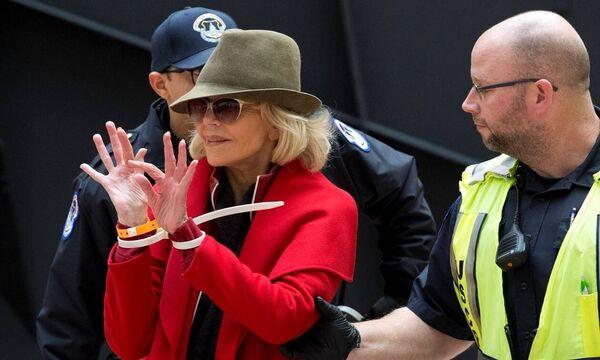 Συνελήφθη για τέταρτη φορά η διάσημη ηθοποιός Τζέιν Φόντα
