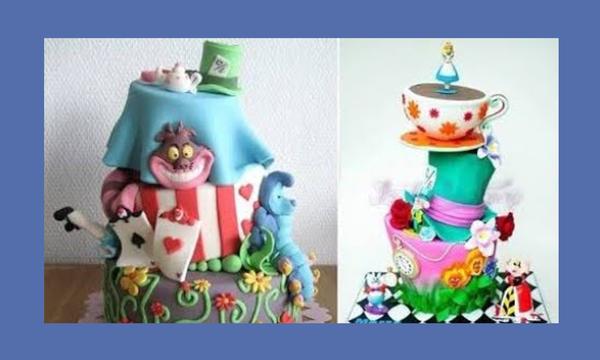 «Η Αλίκη στην Χώρα των Θαυμάτων» - Εντυπωσιακές τούρτες εμπνευσμένες από το υπέροχο παραμύθι (vid)