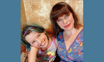 Η κόρη της Mila Jovovich έγινε 12 ετών - Δείτε φώτο από το εντυπωσιακό της πάρτι (pics)