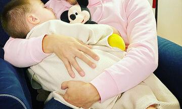 Η τρυφερή φωτογραφία του Έλληνα ηθοποιού με τον γιο του (pics)