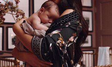Η γνωστή ηθοποιός έγινε μαμά και εμείς ανυπομονούμε για περισσότερες φωτογραφίες της μπέμπας της