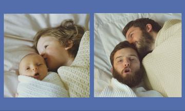 Αδέρφια αναβιώνουν παιδικές τους φωτογραφίες και είναι υπέροχα (pics)