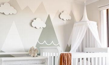 Total white βρεφικό δωμάτιο; 10 προτάσεις που θα σας εμπνεύσουν (pics)