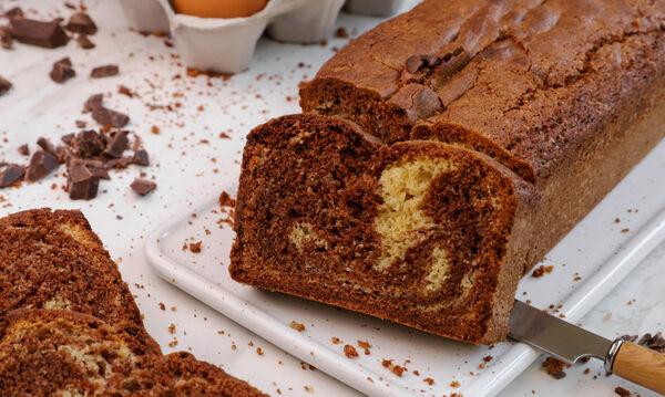 Κέικ βανίλια-σοκολάτα - Θα το λατρέψουν μικροί & μεγάλοι