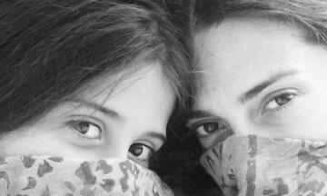 Μαρία Λεκάκη: Η φωτογραφία που τράβηξε η κόρη της Ζωή (pics)