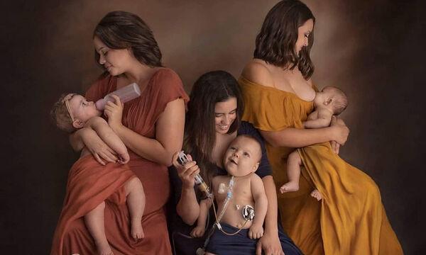 Όποιος και αν είναι ο τρόπος, το να ταΐζεις ένα μωρό είναι υπέροχο – Οι φωτογραφίες που έγιναν viral