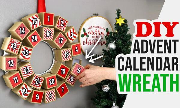 Countdown ημερολόγιο για τα Χριστούγεννα – Μία υπέροχη ιδέα που θα λατρέψει κάθε παιδί (vid)