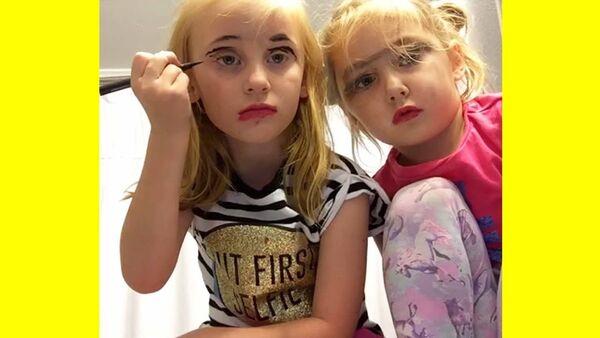 Όταν τα παιδιά γίνονται make up artists - Ένα βίντεο που πρέπει να δείτε (vid)
