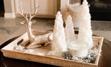 Χριστουγεννιάτικη διακόσμηση δίσκων (pics)