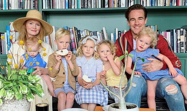 Τα παιδιά του James Van Der Beek είναι αξιολάτρευτα - Δείτε τη γλυκιά οικογένειά του (pics&vid)