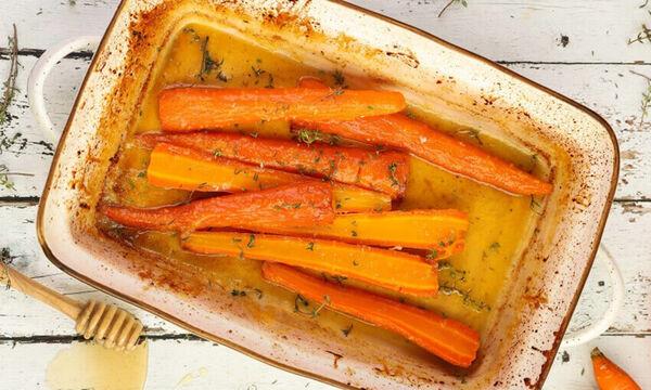 Ψητά καρότα με θυμάρι - Μία υγιεινή και πεντανόστιμη συνταγή