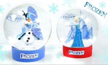 Χιονόμπαλες Frozen - Η πιο χριστουγεννιάτικη χειροτεχνία για παιδιά (vid)