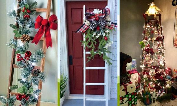 Στολισμένες σκάλες: 20 ιδέες για όσους δεν θέλουν να στολίσουν φέτος μόνο χριστουγεννιάτικο δέντρο