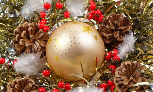 Χριστουγεννιάτικη διακόσμηση με κουκουνάρια: Έξυπνες και απλές ιδέες για το σπίτι σας (vid)