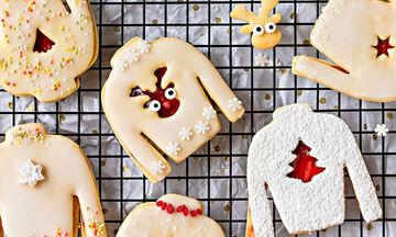 Δέκα υπέροχα σχέδια για τα πιο γιορτινά χριστουγεννιάτικα μπισκότα (pics)