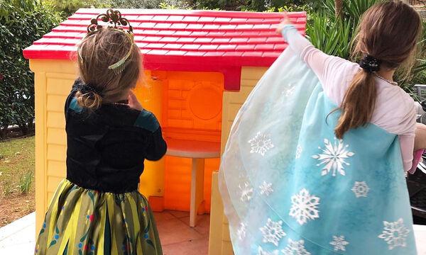 Αναγνωρίζετε τις μικρές πριγκίπισσες; Είναι κόρες γνωστής Ελληνίδας δημοσιογράφου (pics)