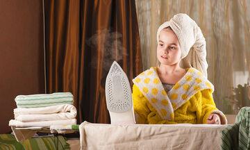 Εσείς γνωρίζατε αυτά τα tips για το σιδέρωμα;