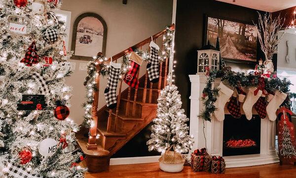 Ιδέες για να διακοσμήσετε το τζάκι σας φέτος τα Χριστούγεννα (pics)