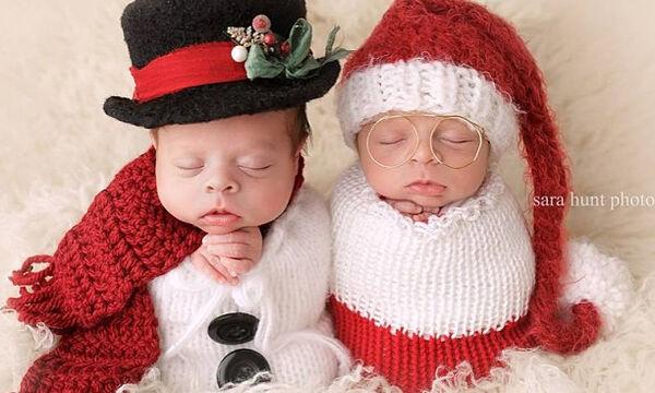 Αυτά τα δίδυμα νεογέννητα μωράκια είναι σίγουρα τα πιο γλυκά που έχετε δει (pics)