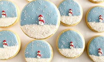 10 χριστουγεννιάτικα μπισκότα που μπορείτε να φτιάξετε με τα παιδιά (pics)