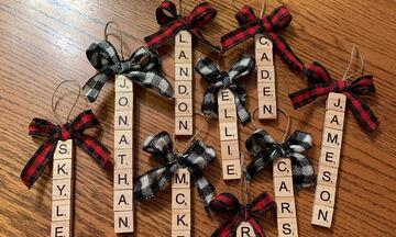 Πρωτότυπα και ξεχωριστά χειροποίητα στολίδια για το χριστουγεννιάτικο δέντρο σας (pics)
