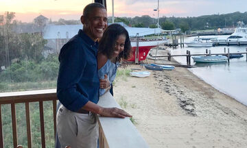 Michelle & Barack Obama - Δείτε πόσο μεγάλωσαν οι κόρες τους (pics)